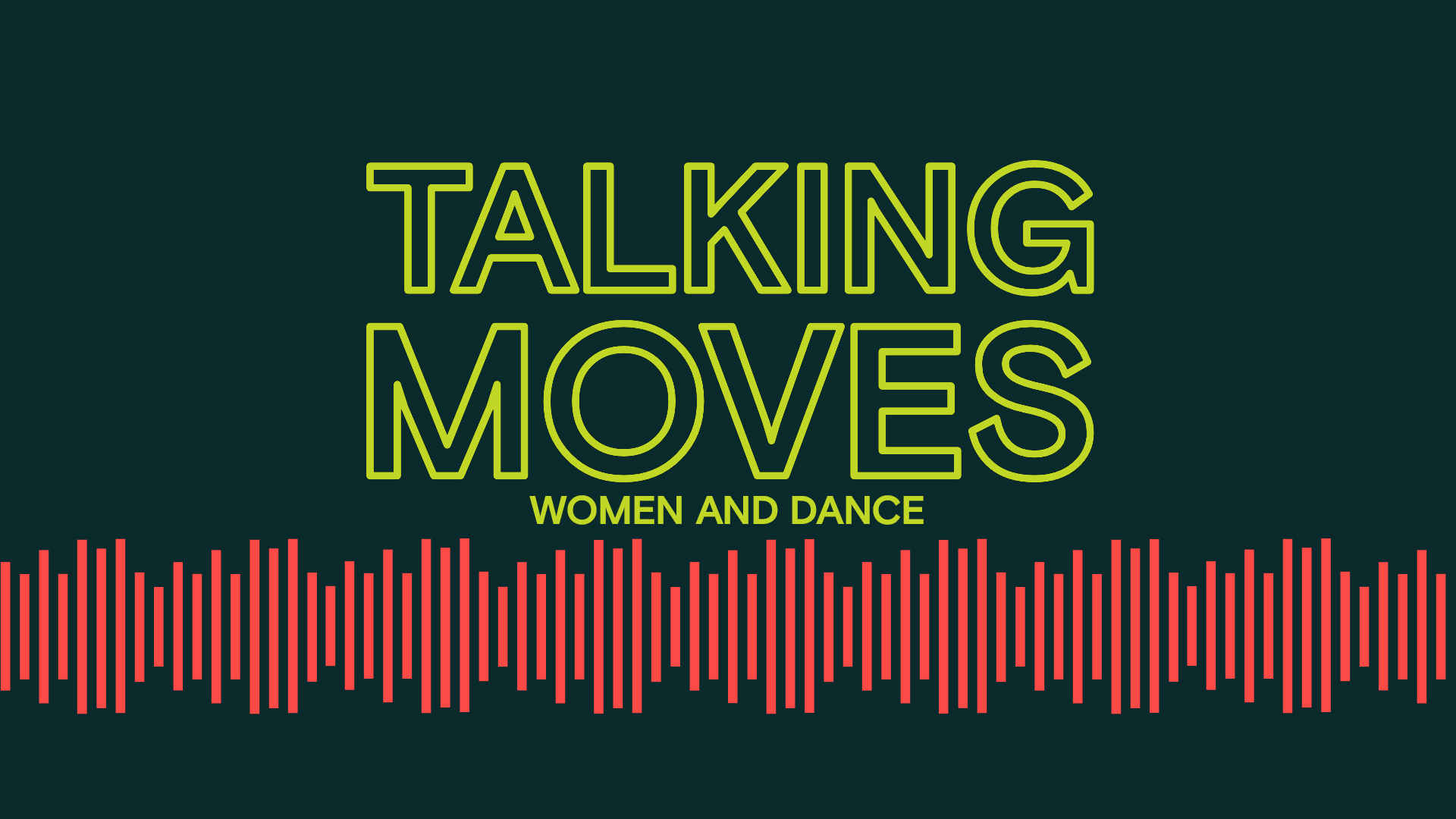 Talking Moves Women and Dance title