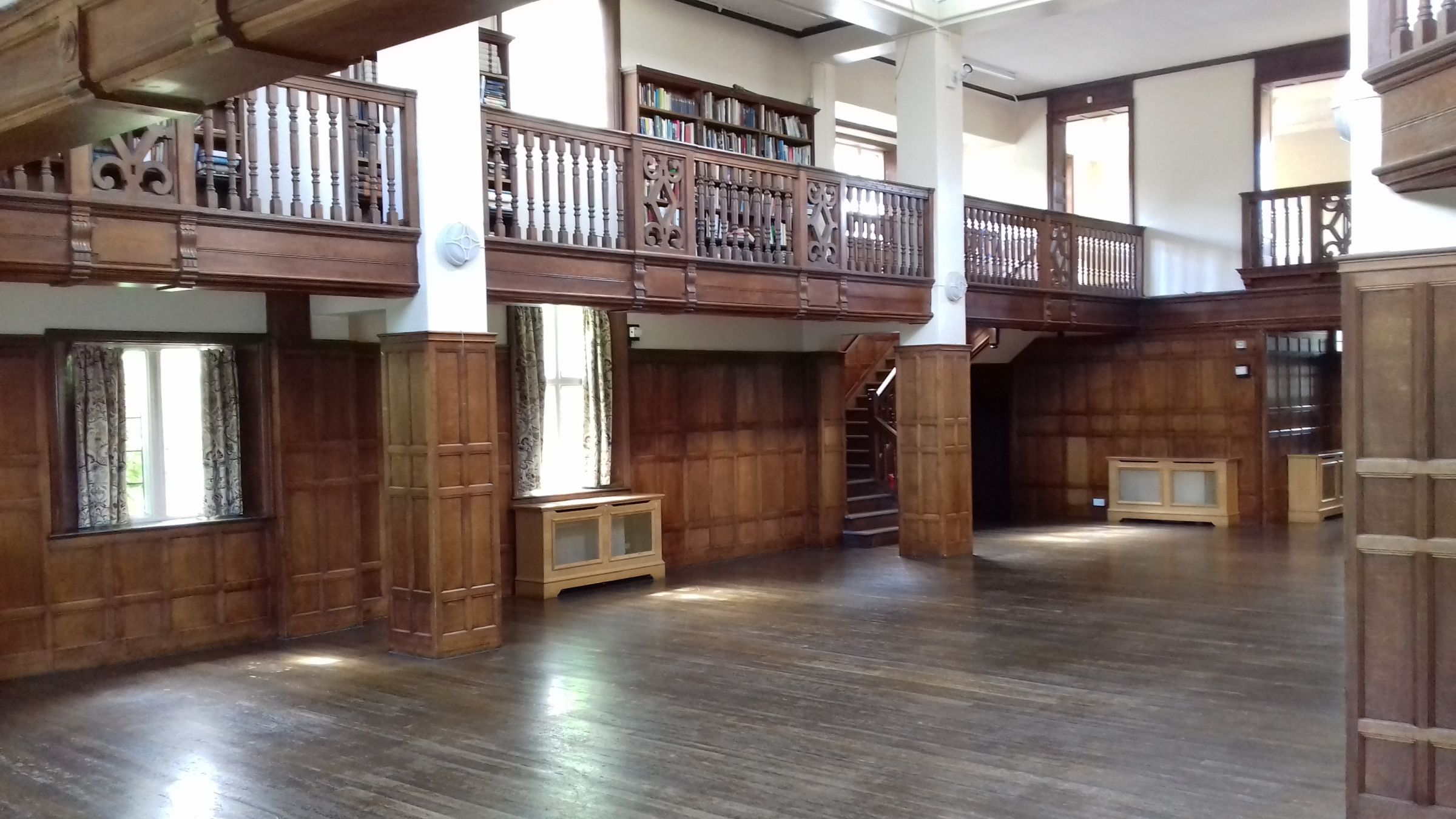 Interior of the old library at Charlton House
