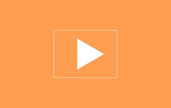 What to Watch play button in orange